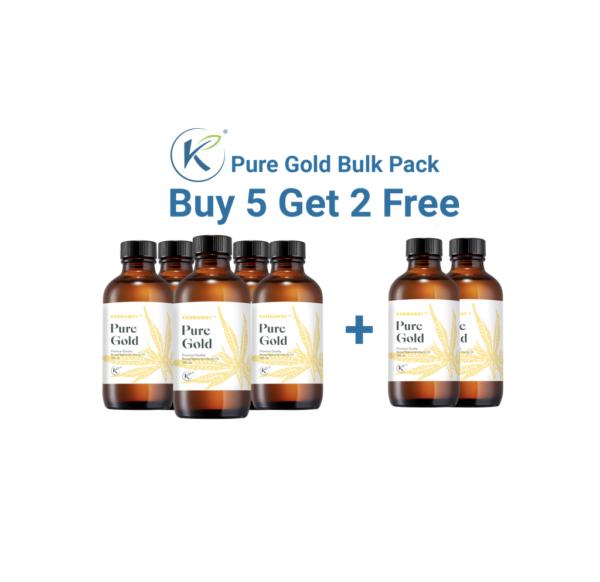 Pure Gold oil paketti 5+2kpl